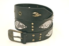 Python - Leather Belt - 1G