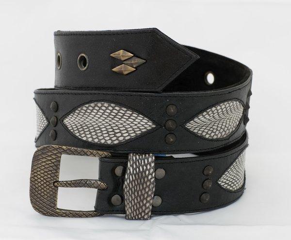 Snake - Leather Belt - 1D