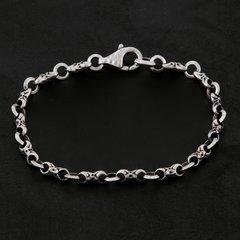 12. Geo-012 - Sterling Silver/Bracelet