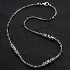 01. Geo-001 - Sterling Silver/Necklace