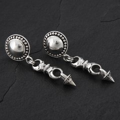 07. Geo-007 - SterlingSilver/PostEarrings
