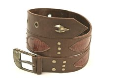 Brown Snake - Leather Belt - 1K