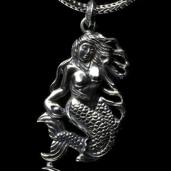 49. Mermaid/SterlingSilver/Pendant