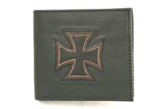 Maltese Cross - Leather Wallet - 1C
