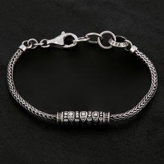 01. Geo-001 - Sterling Silver/Bracelet