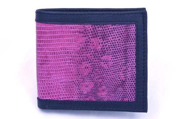 Pink Lizard - Leather Wallet - 1M