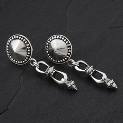08. Geo-008 - SterlingSilver/PostEarrings