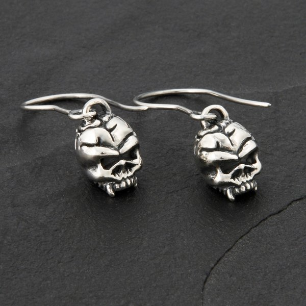 44. Skulls - SterlingSilver/DropEarrings
