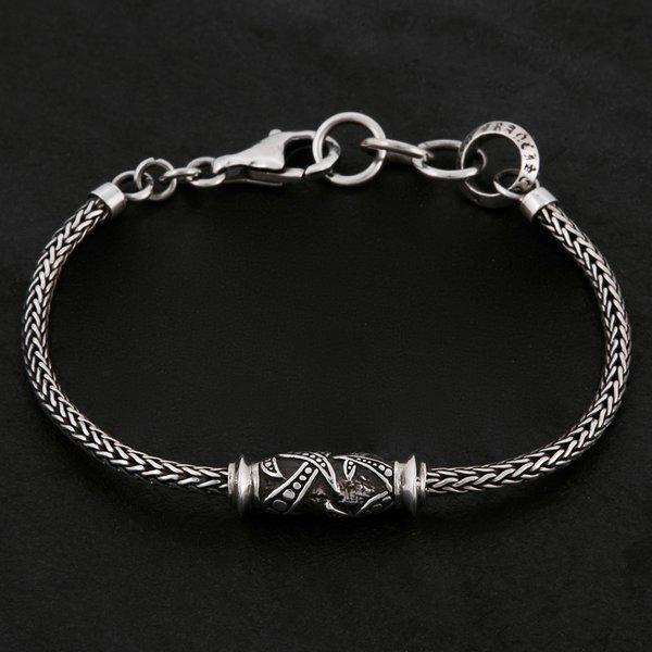03. Geo-003 - Sterling Silver/Bracelet