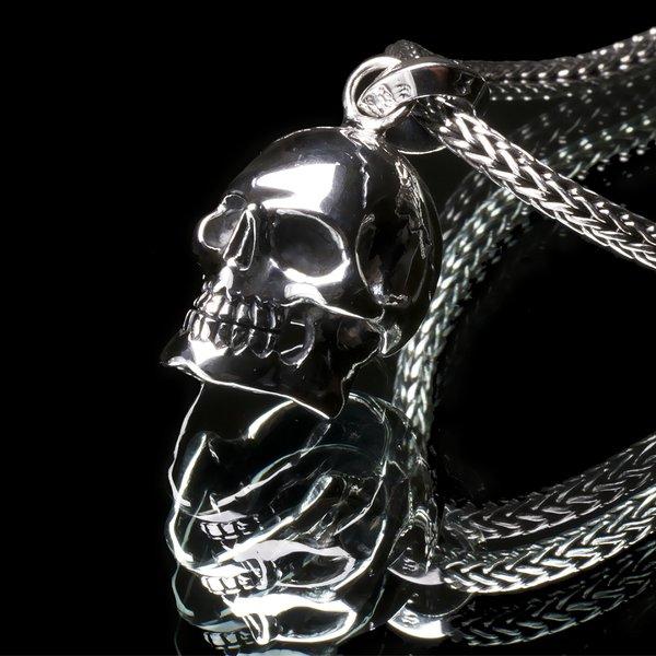 51. Skull/SterlingSilver/Pendant