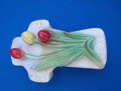 Porcelain Cross Trinket Box