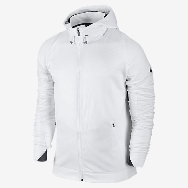 Nike Kobe Mambula Hyper Elite Full-Zip Hoodie White/Black/Gray ...