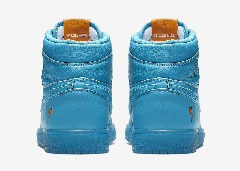 7f0ff6004a32 Air Jordan 1 Retro High OG Gatorade Cool Blue