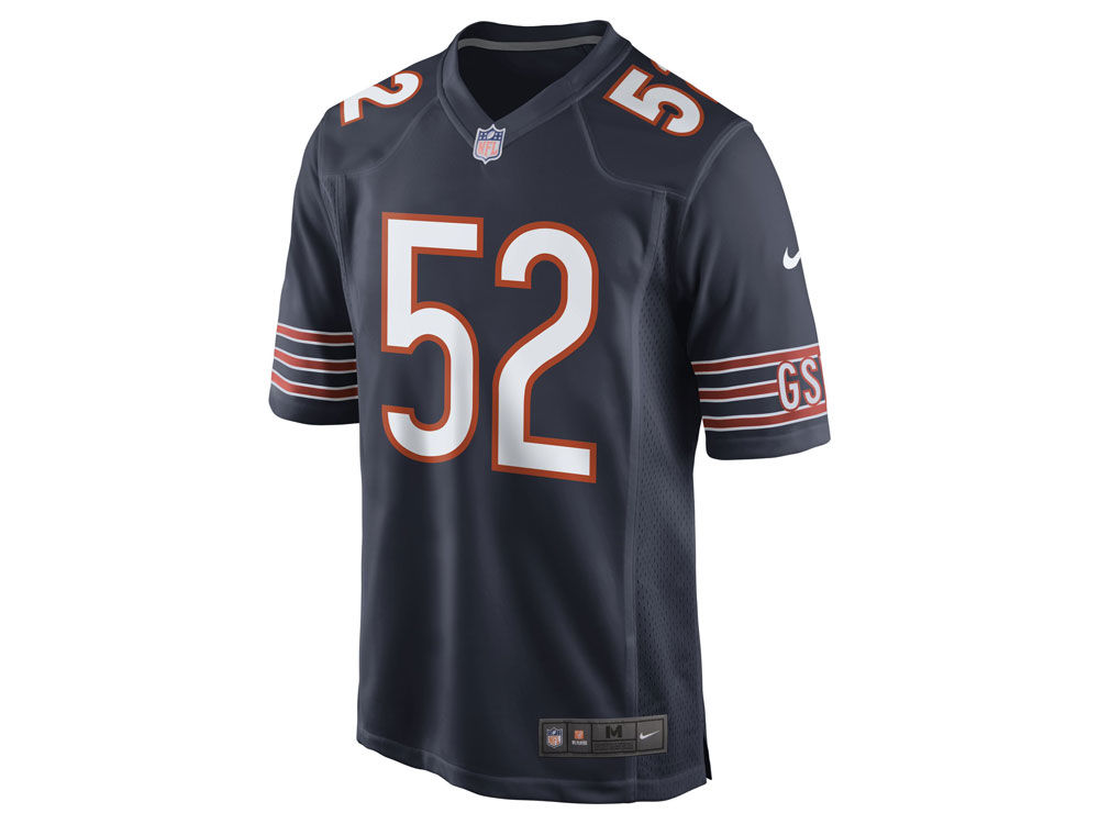 buy online 92e58 26743 Nike NFL Game Jersey Chicago Bears Khalil Mack Jersey