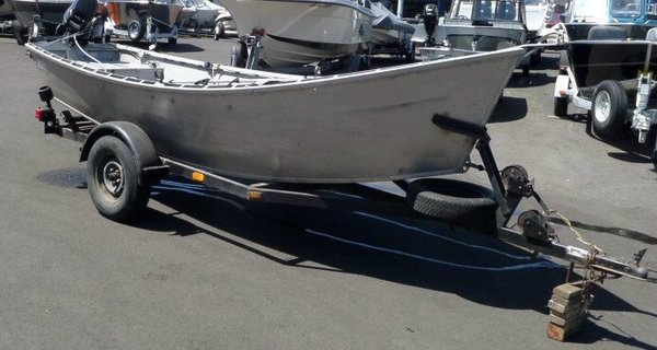 Custom Made In Oregon Alumaweld Alumadrifter Drift Boat