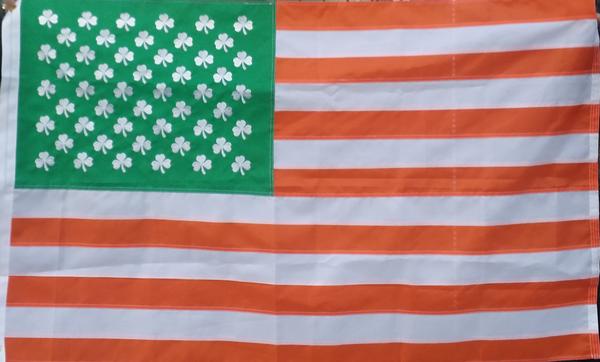 irish american embroidered flag 911 specialties
