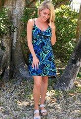 Zen Knits Printed Irene Sun Dress