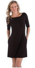Yala Adrianna Boatneck Dress With Pockets