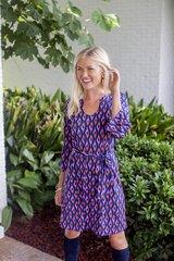 Escapada 3/4 Sleeve Charleston Tunic Dress