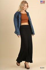 Basic Maxi Skirt (Black)
