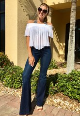 Free People Flare Penny Jeans
