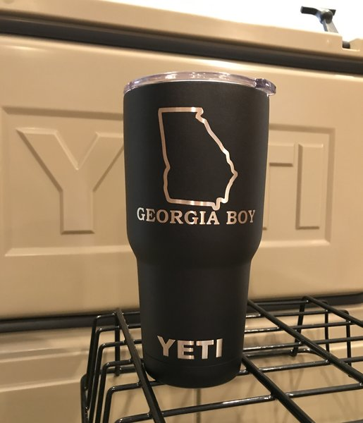 Custom Georgia Boy Yeti 30oz