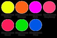 Siser Easyweed HTV * Fluorescent * 12x15 Sheet