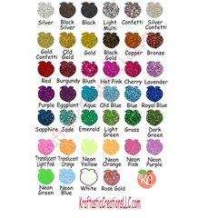 Siser Glitter HTV 12x20 Sheets