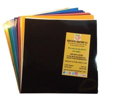"10 sheets Oracal 651 12""x12"" Glossy Vinyl"