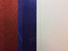 Red, White & Blue Glitter HTV Bundle