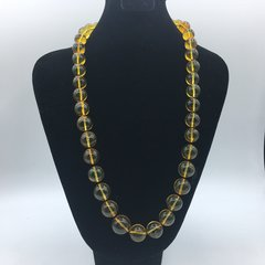 """Dominican Amber Necklace 52 grams 23"""" Long AAA Amber"""