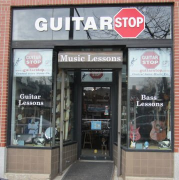 Guitar StopR Is Located At 1760 Mass Ave In Cambridge 3 Blocks Outside Of Porter Square Heading Towards Harvard Between Lancaster St UPS Store On