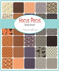 "Hocus Pocus Layer Cake (42 - 10"" x 10"" Squares) designed by Sandy Gervais for Moda Fabric, 100% Premium Cotton"