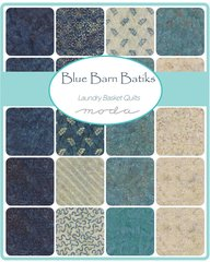 Blue Barn Assorted colors by Laundry Basket Quilts for Moda