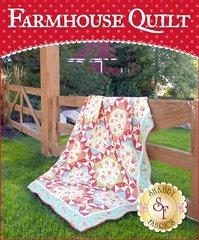 """Farmhouse Quilt by Shabby Fabrics,72 1/2"""" x 96 1/2"""""""