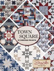 Town Square 20 Christmas Projects designed by Doug Leko of Antler Quilt Design for Moda Fabrics