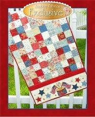 American Glory Table Runner by Shabby Fabrics