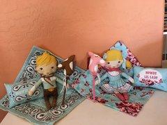 Howdy CowGirl Doll Pattern designed by Stacy Iest Hsu for Moda Fabrics
