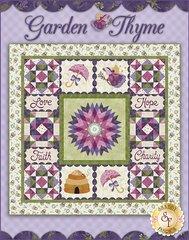 "Garden Thyme Pattern by Shabby Fabrics, 58 1/2"" x 58 1/2"""