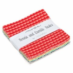 "Bonnie and Camille Moda Treat (42 - 3"" 1/2 x 3"" 1/2 squares) for Moda Fabrics, 100% Premium Cotton"