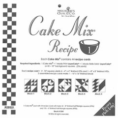 Cake Mix Recipe 1, each Cake Mix contains 44 recipe cards to show you how to slice and dice your Layer Cake