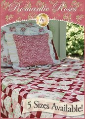 Romantic Roses by Shabby Fabrics, 5 sizes included