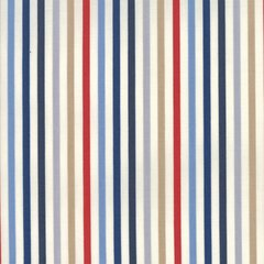 Essentially Yours Multi Blue Stripe Print by Moda Fabric, 100% Premium Cotton by the Yard