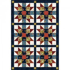 Sister's Choice 6 Block Pre-cut Quilt Kit by Maywood Studio, 100%  Premium Cotton