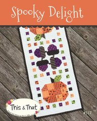 Spooky Delights Table Runner Pattern by This & That, TT317