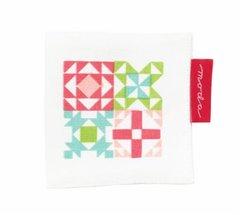 Quilt Block Needle Case by Moda Fabrics, 3 1/2 by 3 1/2 Block