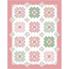 Berries and Blossoms Daisy Patch Quilt Kit (1930's) designed by Kim's Cause Collection for Maywood Studio