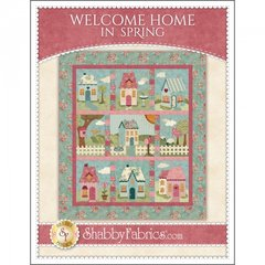 WELCOME HOME IN SPRING Pattern by Jennifer Bosworth for Maywood Studio featuring fabrics from Welcome Home, Collection One