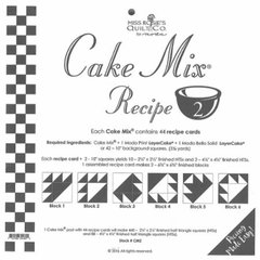 Cake Mix Recipe 2, each Cake Mix contains 44 recipe cards of Blocks to slice and dice