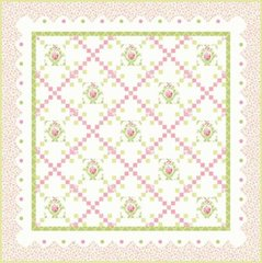 "Guernsey Nottingham Classic - Soft Quilt Kit designed by Brenda Riddle Designs for Moda Fabrics, 61"" x 61"""